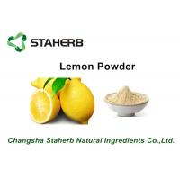 Wholesale Lemon Extract Fruit Extract Powder , Natural Fruit Extract Powder 2 Years Shelf Life from china suppliers