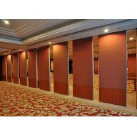 Wholesale Folding Portable Wall Partitions Hall Partition Wall No Floor Track from china suppliers
