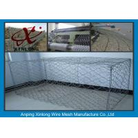 Wholesale Hot Dipped Gabion Rock Wall Cages , Reno Mattress & Gabion Basket Fence from china suppliers