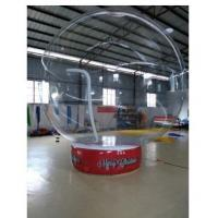Wholesale 0.8 Mm Transparent PVC Ball Custom Inflatable Products With Base from china suppliers