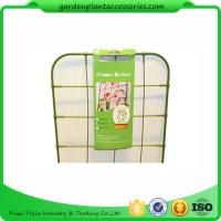 Wholesale Small Metal Green Garden Plant Trellis / Climbing Plant Support from china suppliers