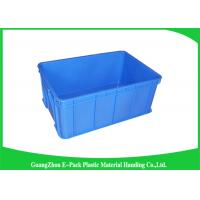 Quality Durable Plastic Stacking Boxes  , Plastic Stacking Storage Bins Environmental Protection for sale