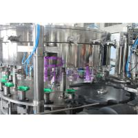 Wholesale PET / Tin Can Carbonated Drink Filling Machine , Full Automatic Filling Capping Machine from china suppliers
