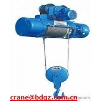 Wholesale high quality cd1/md1 series electric  hoists from china suppliers