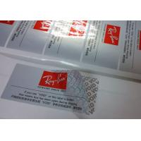 Wholesale Silver Partial Security Printing Paper Material Water Based Sensitive Adhesive from china suppliers