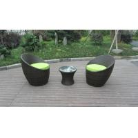 Wholesale Home / Beach / Office Leisure PE Rattan Obelisk Chair With Cushion from china suppliers