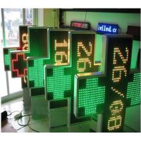 Wholesale IP65 P20 3D Outdoor Dual Color Led Pharmacy Display Signs with 1000 * 1000 mm Size from china suppliers