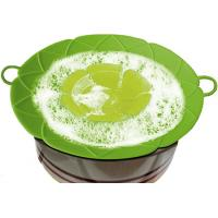 Wholesale 3 Pack Silicone Boil Over Spill Stopper Splatter Guard Pot Pan Lid Cover from china suppliers