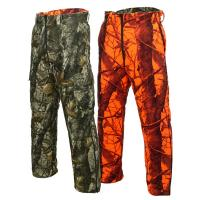 Mens Camouflage Hunting Pants Hunting Trouser With Jungle Tree Camo Reversible