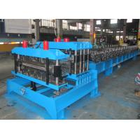 Wholesale Color Steel Roofing Tile Forming Machine ,  Sheet Metal Forming Machines Double Press Mould from china suppliers