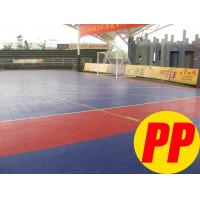 Wholesale Suspended Interlocking Polypropylene Indoor Futsal Floor, Modular Sports Flooring from china suppliers
