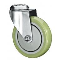 """Wholesale 5""""X1-1/4 Customized PU Caster Wheel With Swivel Kingpin Fitting from china suppliers"""