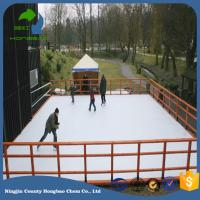Wholesale Self Lubricating Synthetic Ice Rink Panel 1000*2000mm Dovetail Connection Anti Abrasion For Skating from china suppliers