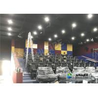 Wholesale Unique Dynamic 5D Simulator With Genuine Leather 5D Durable Electric Seats And Professional Decoration from china suppliers