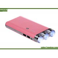 Wholesale Square Tube Flashlight Power Bank , Smart Phone Battery Charger Power Supply from china suppliers