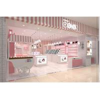 China Elegant Pink Eyeglass Display Case For Contact Lenses Eyeglasses Specialty Stores on sale
