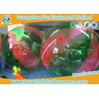 Wholesale Commercial PVC Inflatable Ball To Roll In For Kids , Human Water Bubble Ball from china suppliers