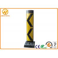 Wholesale 1100 Height Reflective Plastic Vertical Traffic Delineator Post with Yellow Jacket from china suppliers