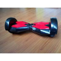 Wholesale Environmental Protection Black Red E Balance Scooter Double Wheel With LED Light from china suppliers