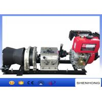 Wholesale 50KN Fast Speed Cable Pulling Winch Air Cooled Diesel Enginen By Shaft from china suppliers