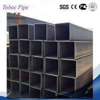 Wholesale Tobee ®  Stocking black steel  square and rectangular iron pipe tube price in tianjin factory from china suppliers