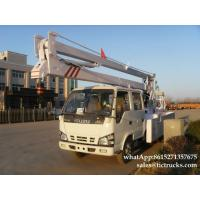 Wholesale ISUZU aerial platform truck  14`18M   Folding Boom Japanese Aerial Platform Vehicle Customization  WhatsApp:861527135767 from china suppliers