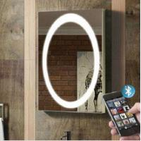 Wholesale Luxurious hotel bath mirror with defogger and lock TV and radio from china suppliers