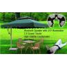 Buy cheap umbrella LED light wireless speaker outdoor garden light hanging light for camping light from wholesalers
