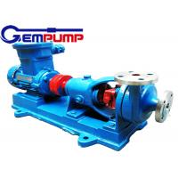 Buy cheap AFB Horizontal Corrosion Resistant Chemical Centrifugal Pump 0.75KW ~ 55KW from wholesalers
