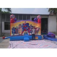 Wholesale Spderman / Frozen Inflatable Jumping House With PVC Tarpaulin from china suppliers