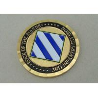 Wholesale 3rd Infantry Division Personalized Coins By Brass Die Struck For Memorial from china suppliers