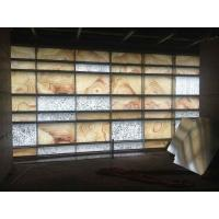 Wholesale Exterior Bacstone Onyx Glass Facade from china suppliers