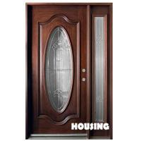 Wholesale Inward Swing Opening Solid Timber Door For Villas With Double Glazed from china suppliers