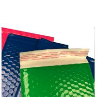 Wholesale Strong glue  plastic bubble mailers shinny surface  easy for writing&printing. from china suppliers