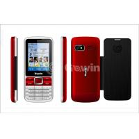 Wholesale Red / Black Dual Sim Cards Dual Standby Phone from china suppliers