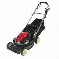Wholesale Lawn Mower with Honda Engine, Deck Washport, 3-speed Gearbox and Mulch Plug from china suppliers
