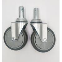 Wholesale Carts 5 Inch Caster Wheels , Shelf Metal Food Service Equipment Casters from china suppliers