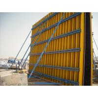 Wholesale Custom Concrete Wall Formwork Concrete Wall Form , Lightweight 55-60kg/m2 from china suppliers