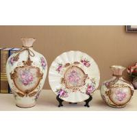 Wholesale European style ceramic vase decor 3 items from china suppliers