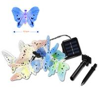 Wholesale Solar power led fiber butterfly string from china suppliers