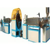 Wholesale CE PVC Pipe Extrusion Line , PVC Steel Wire Reinforced Soft Pipe Making Machine from china suppliers