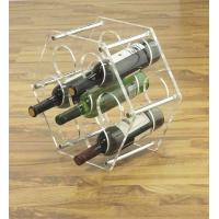 Wholesale Stainless Steel Wine Display Stands Clear Acrylic For Bottles from china suppliers