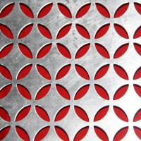 Buy cheap decorative pattern perforated metal sheet  / round hole perforated ceiling panels from wholesalers