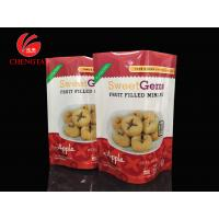 Wholesale PET / PE Laminated Stand Up Pouches Packaging for Fruit Filled Mini - Pie from china suppliers