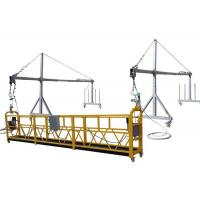 Wholesale Haoke Steel Painted / Hot Galvanized / Aluminum ZLP630 Suspended Working Platform For Building Facade Painting from china suppliers