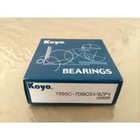 Wholesale High Precision Original Japan KOYO Angular contact ball bearing 7205C from china suppliers