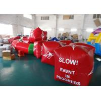 Wholesale Water Triathlons Advertising Inflatable Promoting Buoy For Ocean Or Lake from china suppliers