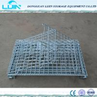 Wholesale Folding Logistic Security Storage CageFor Workshop Powder Coated Finish from china suppliers