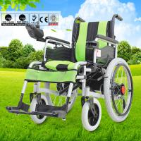 Wholesale Disabled Electric Wheelchair , Compact Motorized Wheelchair For Old Person from china suppliers