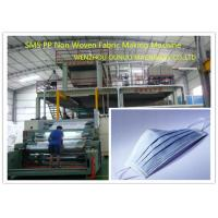 Wholesale Multi - Function PP Non Woven Fabric Making Machine 1600mm Width CE Certification from china suppliers